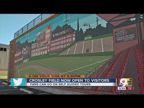 Crosley Field memorial site dedication evokes pleasant memories of ballpark