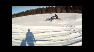 Grand Marais, MI 2014 Snowmobile Trip Polaris Yamaha Ski Doo