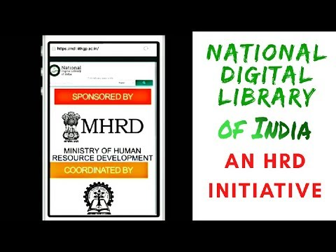 National Digital Library . IIT KGP initiative. Android prview