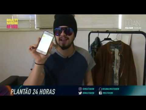 Flash 07 - Canta Luan no Multishow - A escolha do Look - 24HorasComLuan 0208