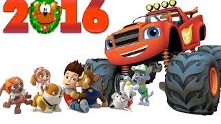 Новый год с героями любимых мультиков! Вспыш и чудо-машинки, Щенячий Патруль и другие!