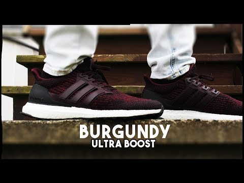 casual shoes best value coupon codes Best Fall Shoe? - DEEP BURGUNDY ULTRA BOOST ON FEET AND CLOSE UP LOOK! -  NEW ULTRA BOOST 3.0