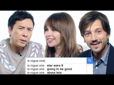 Rogue One Stars Answer the Web's Most Searched Questions | WIRED