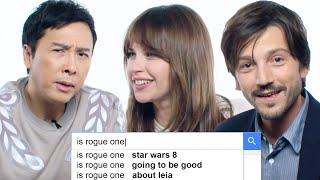 Rogue One Stars Answer the Web