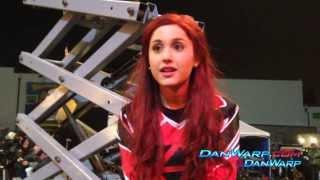 Dan Schneider Presents Ariana Grande and Matt Bennett on set SUPERCUT #KillerTunaJump