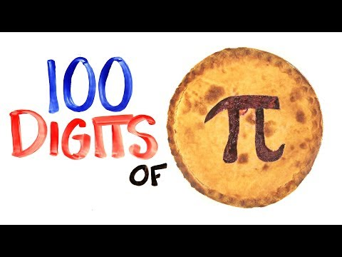 The Pi Song  (Memorize 100 Digits Of π)