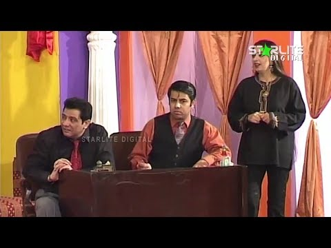 Naseem Vicky, Sardar Kamal And Rubi Anum-  New Pakistani Stage Drama - Full Comedy Clip