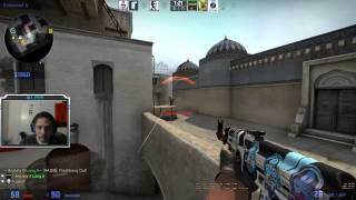 CSGO How to hold A + Catwalk