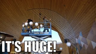 WE BUILT THE WORLDS LARGEST HARP!