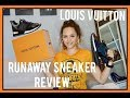 LOUIS VUITTON RUNAWAY SNEAKER REVIEW / LOUIS VUITTON TRAINERS | CA$$IE THORPE
