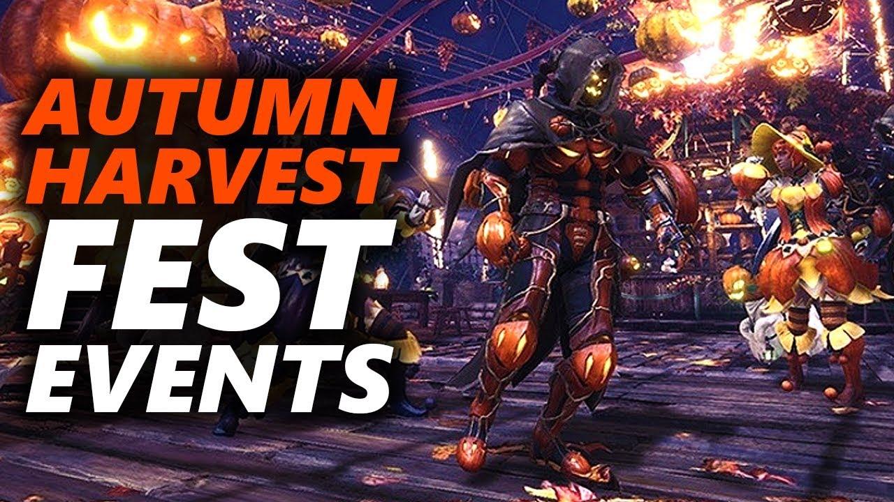 monster hunter world pc event