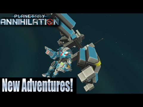 Planetary Annihilation 10 player FFA - New Adventures!