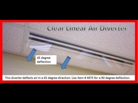 Item 4874 Clear Linear Air Diverter Youtube