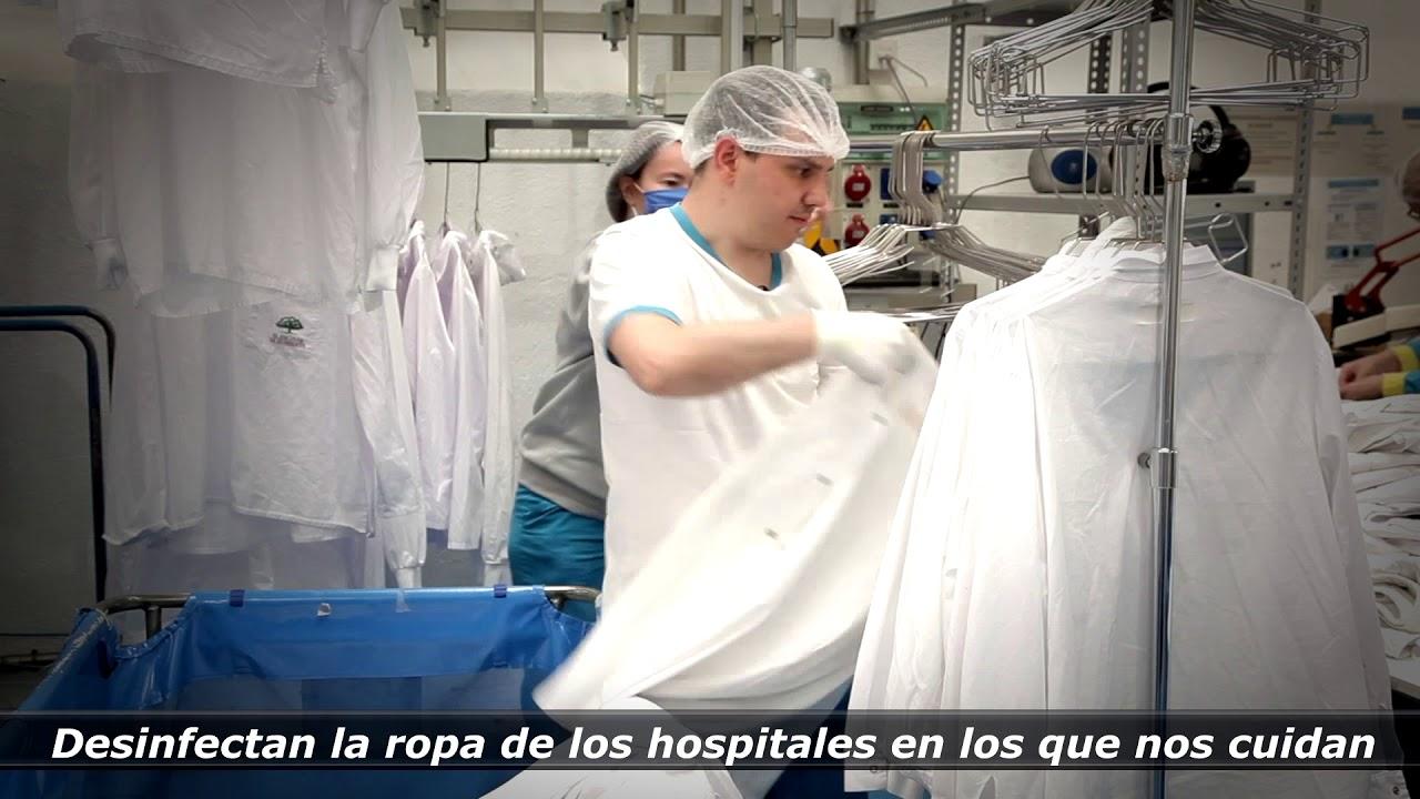 """Ver en Youtube el vídeo """"Contamos con vosotr@s"""". Empleados con discapacidad trabajando durante la pandemia. Abre en nueva ventana"""