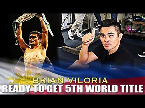 VILORIA READY TO GET HIS 5TH WORLD TITLE ON FEBRUARY 24, 2018