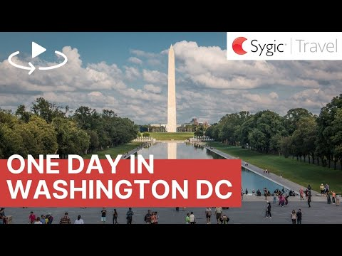 One day in Washington DC 360° Travel Guide
