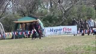 フリスビードック チーム絆 チーム犬魂 2012年4月8日ハイパーフラ...