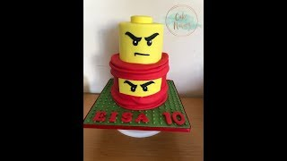 Download The Lego Ninjago Sets Movie Birthday Cake Design