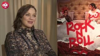 Marion Cotillard en interview au micro d'Iris