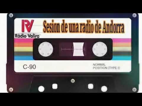 ( CINTA ) SESION DE UNA RADIO DE ANDORRA (Radio Valira)