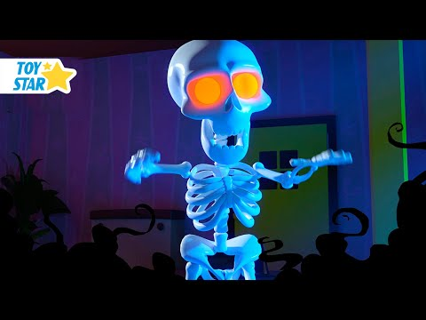 New 3D Cartoon For Kids ¦ Dolly And Friends ¦ Spooky Skeleton