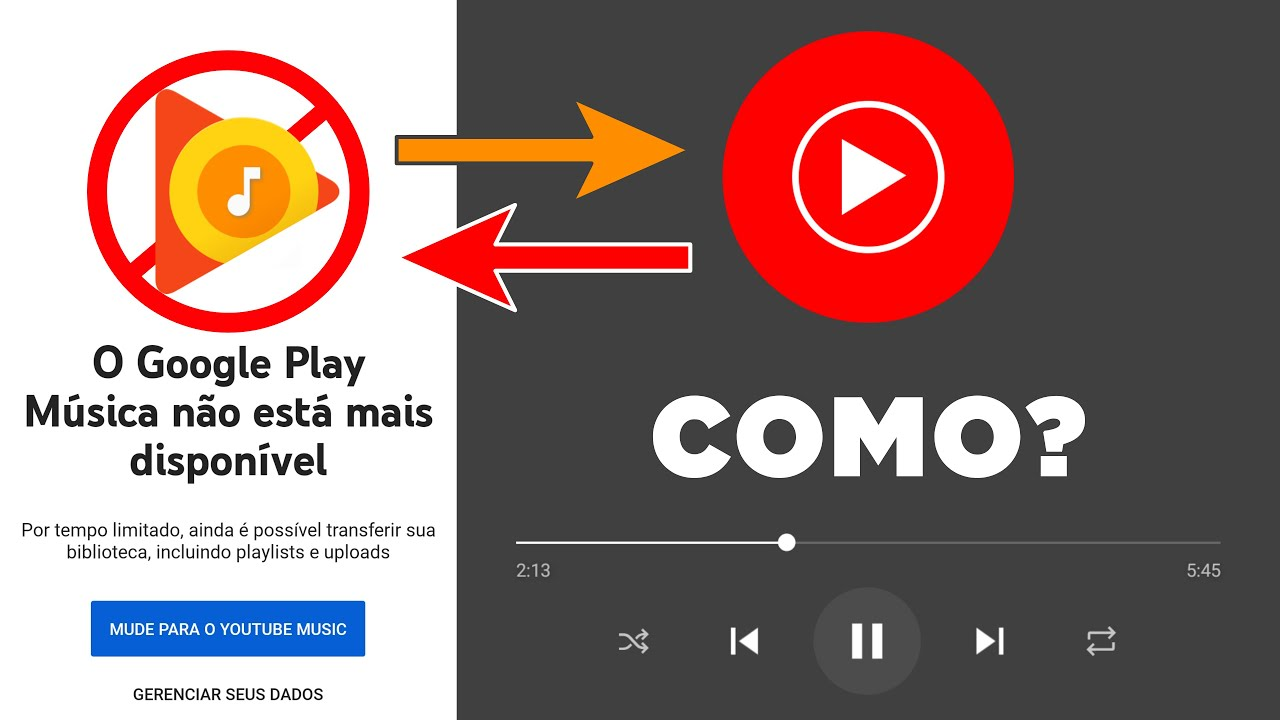 Como Ouvir As Músicas Do Google Play Música No Youtube Music Dicas Para Continuar Usando O App Youtube