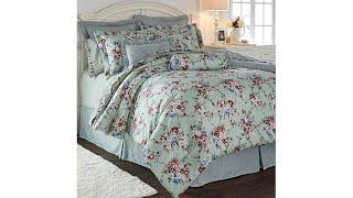 Cottage Collection Floral 100% Cotton 9pc Comforter Set