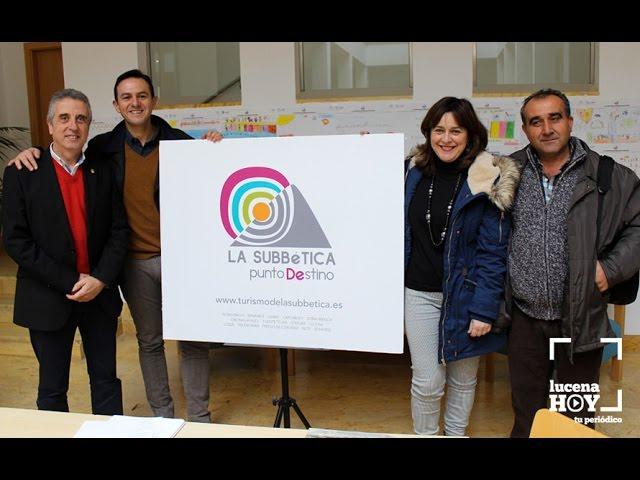 VÍDEO: La Subbética presentará en FITUR la guía 'Naturaleza en Piedra' y otra sobre alojamientos