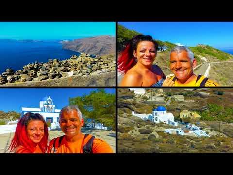 Santorini slideshow,  Thera, Fira, Oia, Kamari, Mediterranean Beach Hotel