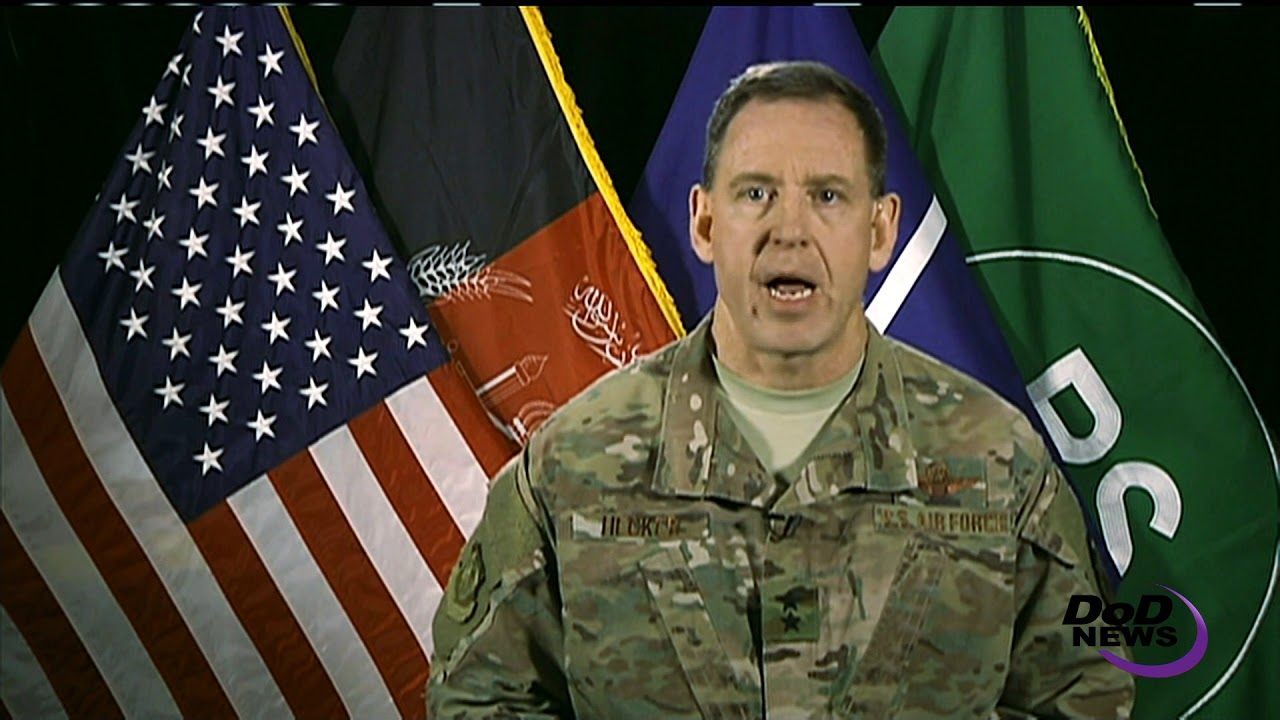 U.S. Forces Strike Terrorist Training Camps, Resolute Support Air Commander Says