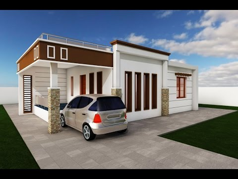 Architecture house design using Archi-cad, time lapse