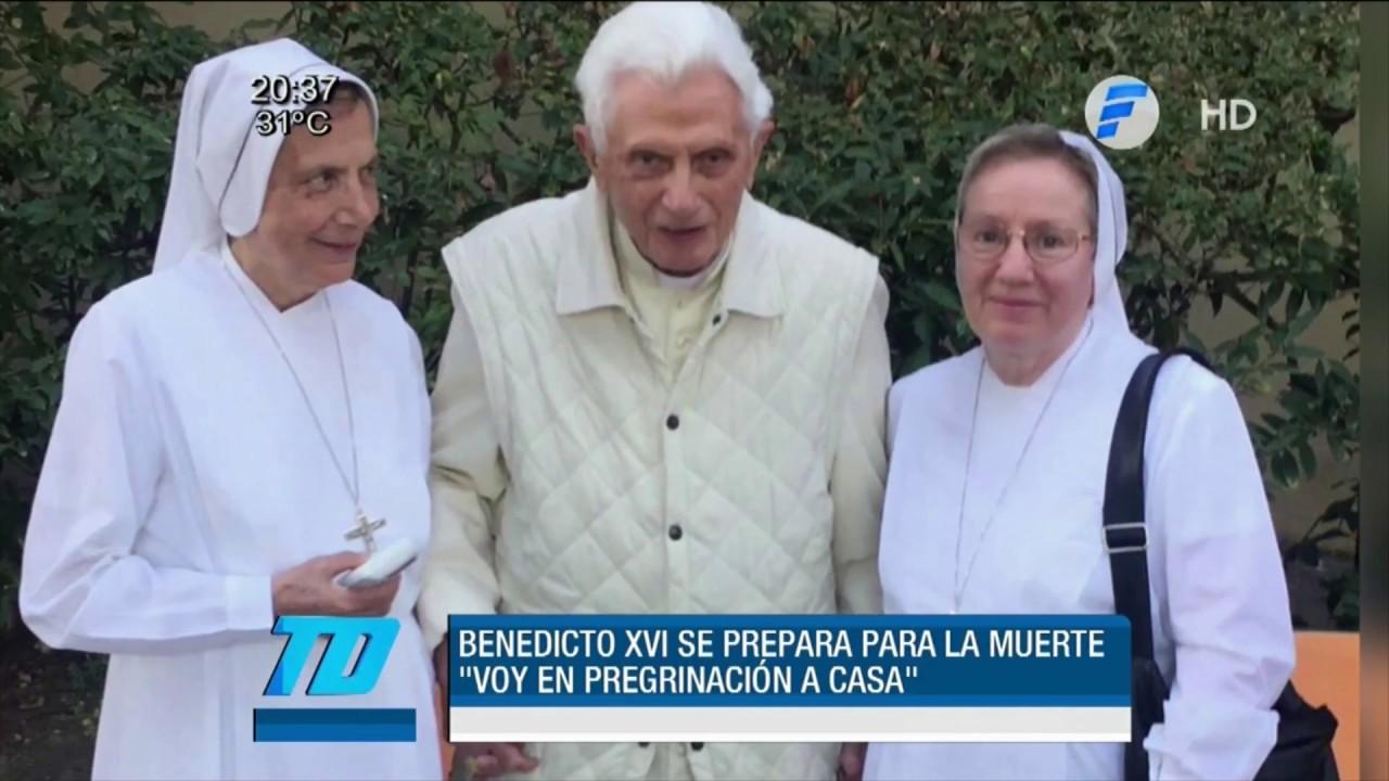 Benedicto XVI confesó que se prepara para la muerte - YouTube