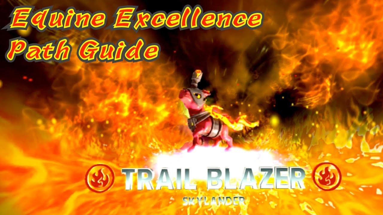 skylanders trap team trail blazer equine excellence