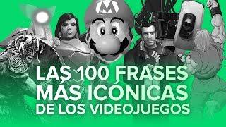 Las 100 frases más icónicas de los videojuegos