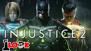 INJUSTICE 2 ! The KING of Mobile fighting games is BACK !  (1st Look iOS / Android Gameplay)