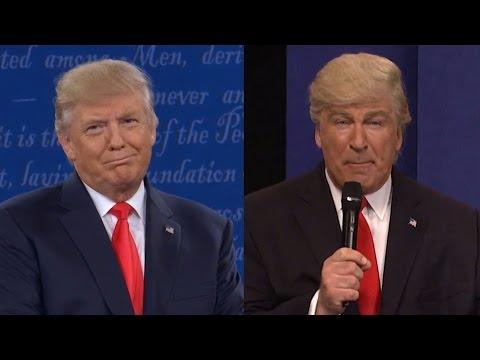 Trump slams SNL for mocking his debate performance