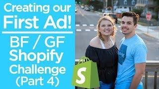إنشاء أول إعلان!   فرنك بلجيكي/فرنك غيني 0 إلى 1000 دولار SHOPIFY التحدي   الحلقة 4