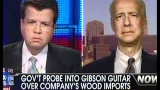 "Gibson Guitar CEO says ""government raided wood we have used for 17 years."""