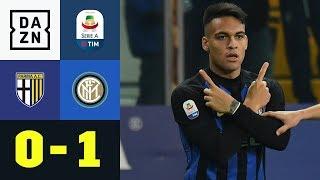 Lautaro Martinez trifft, Inter siegt dreckig: Parma - Inter Mailand 0:1 | Serie A | DAZN Highlights
