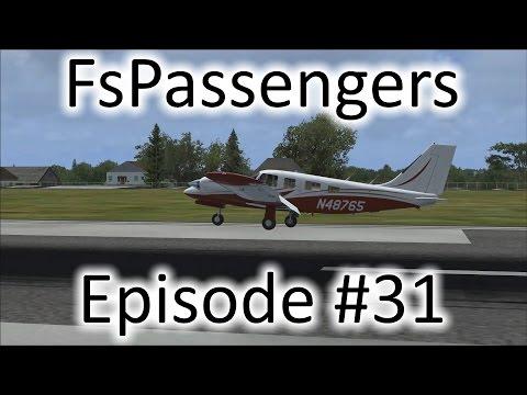 FSX | FsPassengers - Ep. #31 - Off to Salina | PA-34 Seneca V