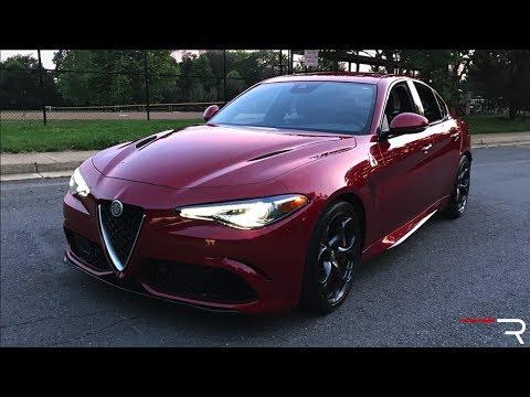 2017 Alfa Romeo Giulia Quadrifoglio – Redline: Review