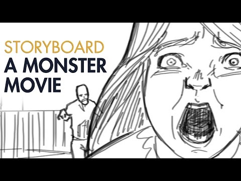 Storyboard a Monster Movie - Digital Techniques - PREVIEW