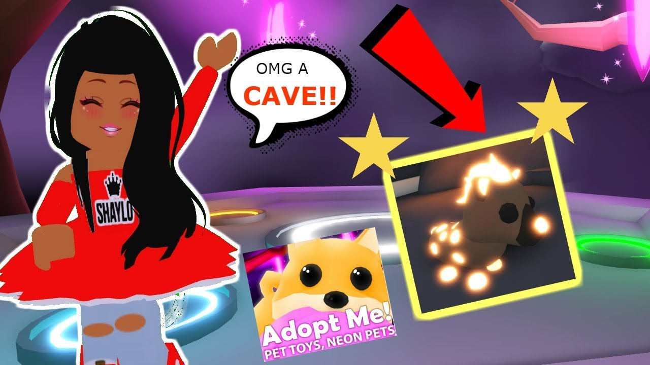 HOW TO GET THE NEW NEON PETS IN ADOPT ME UPDATE!+NEW PET TOYS & A SECRET CAVE!