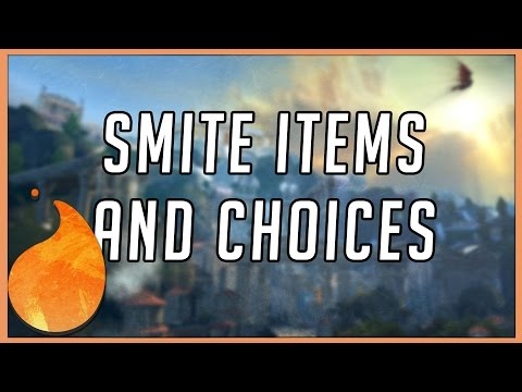 Smite Item Builds and Choices