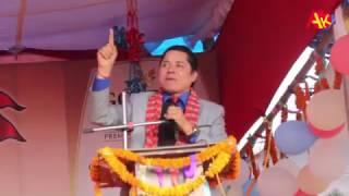 बद्री पंगेनी लाई यसरी के भन्दैछन् ऋिषी धमला || Rishi Dhamala Speech about Nepali Lok Dohori