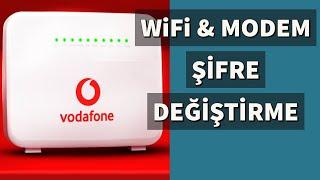 Vodafone WIFI Şifre Değiştirme (Vodafone Modem Şifresi Değiştirme)