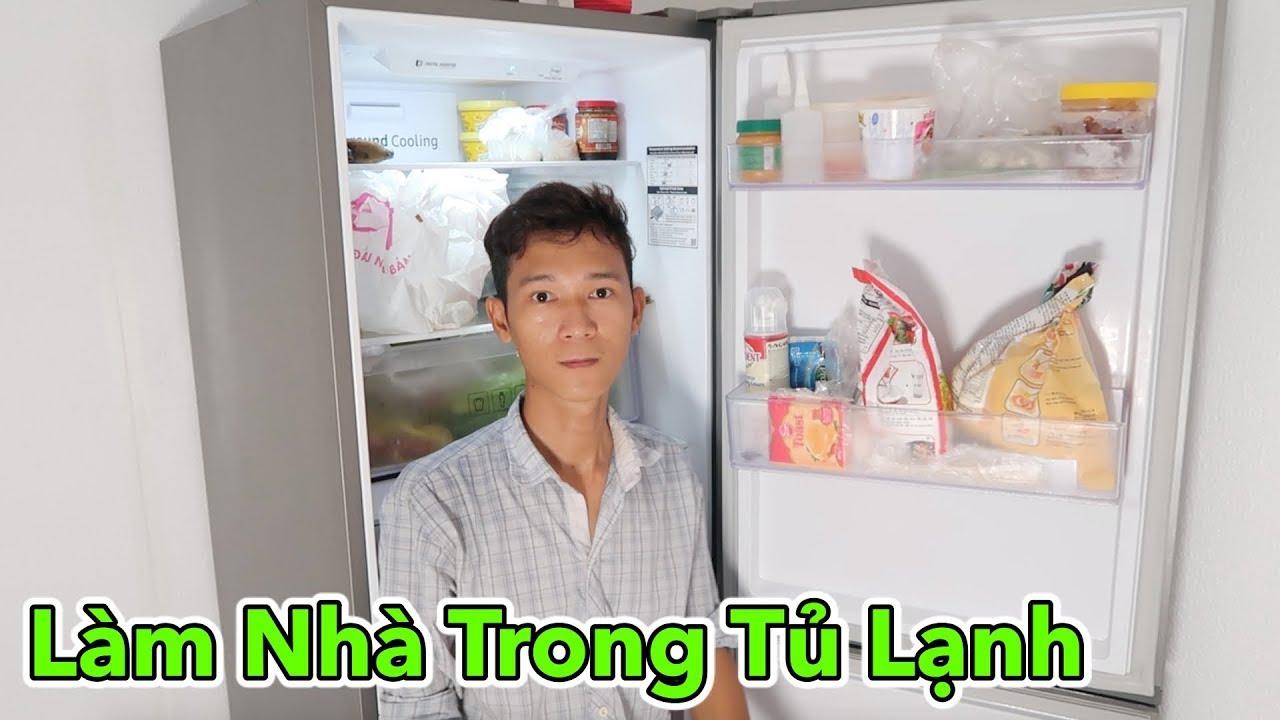Lâm Vlog – Thử Làm Nhà Trong Tủ Lạnh Siêu Mát | Sống Trong Tủ Lạnh