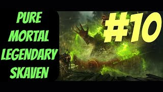Pure Mortal Legendary Skaven Campaign #10 (Queek) -- Total War: Warhammer 2