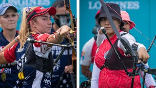 USA v Mexico – recurve women's team gold | Final Olympic qualifier 2021