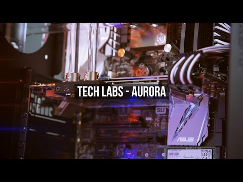 Tech labs Aurora - Our latest GTX 1070 & 1080 watercooled PC!